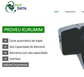 Últimos Projeto webSite e Marketing Digital REPDATA